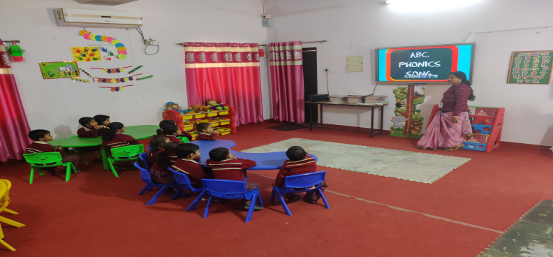 Air-Conditioned Nursery Classroom